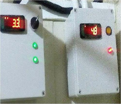 tablero de control para cava  cuarto full gauge