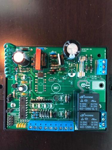 tablero de control para motores portones electricos