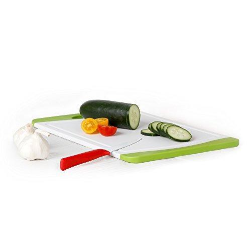 tablero de corte de plástico neoflam 17 en blanco y verde