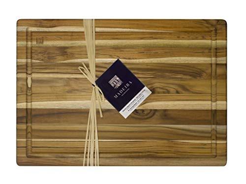 tablero de corte y tallado de madeira, grano de borde de