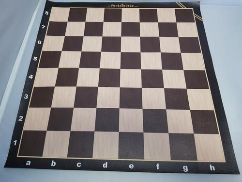 tablero de cuerina vip - color madera con escaque de 5.2