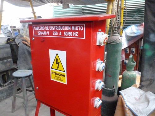 tablero de distribucion electrica de 200 y 250amperios