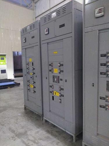 tablero de distribución y potencia de 1600 a