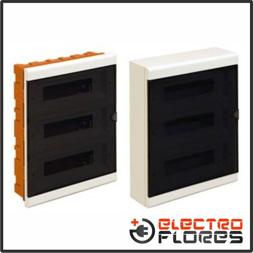 tablero de embutir p/ termicas 36 modulos premium roker 650f