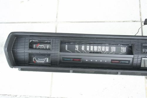 tablero de instrumentos coronet 1966