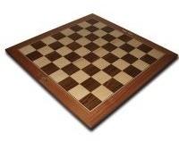 tablero de madera fijo de 6cm x 6cm - ventajedrez