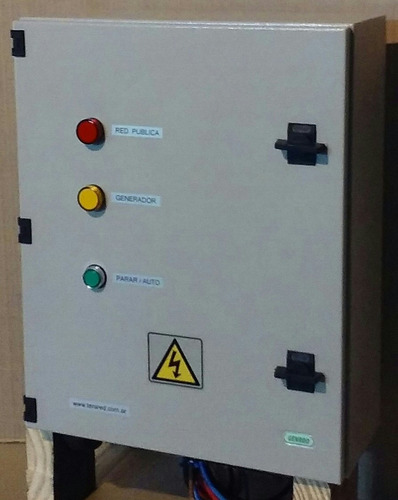 tablero de transferencia automática tta trifasico sistelgas