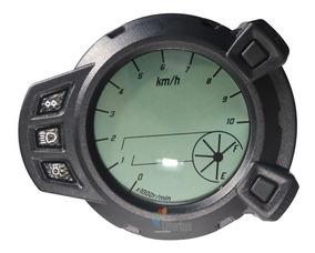 Ocamo Cuentakil/ómetros de motocicleta Tac/ómetro de pantalla digital LED 2 en 1 Fule Gauge
