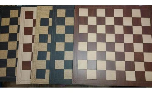 tablero ecologico madera ajedrez