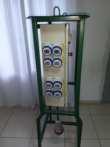 tablero eléctrico de faena est. minero - autorizados s.e.c