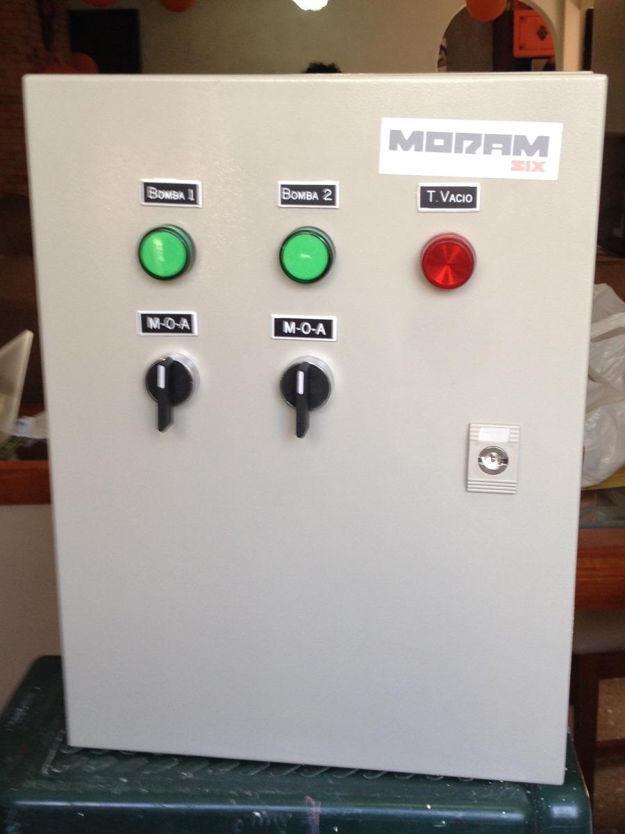 Tablero Electrico S Hidroneumatico 2 Bombas 10 Hp