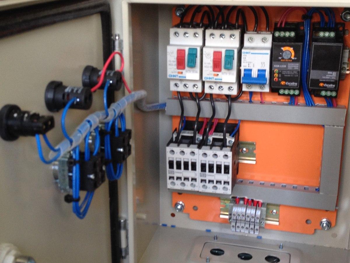 Tablero electrico s hidroneumatico 2 bombas 10 hp for Compresor hidroneumatico