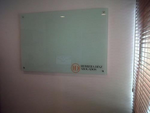 tablero en vidrio sin reflejo personalizado