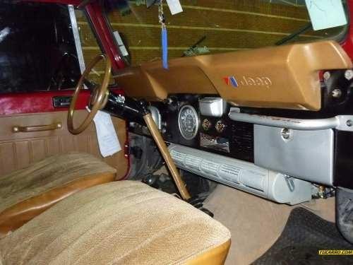 tablero jeep cj5  cj7 rusticos