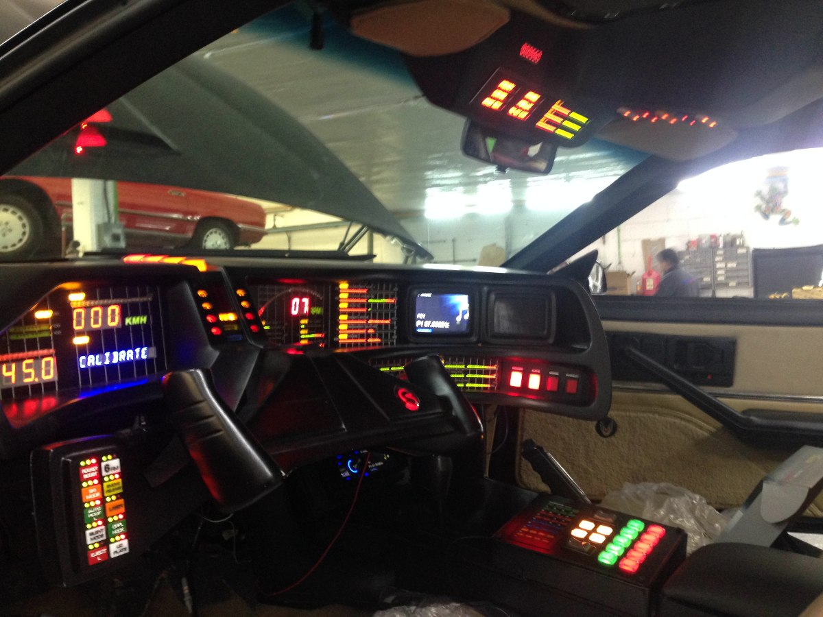 Tablero Knight Rider Kitt Con Electronicos 2tv, Trans Am