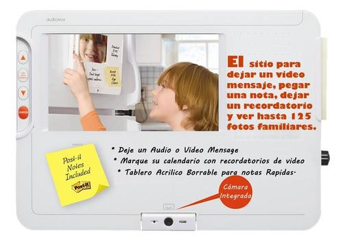 tablero multimedia de mesajes para el hogar u oficina