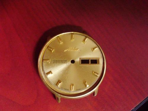 tablero o  esfera para reloj mido realizo