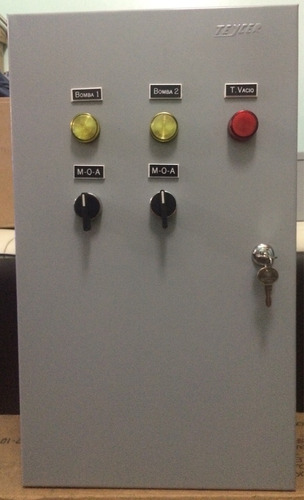 tablero o panel de control s. hidroneumatico 2 bombas, 3 hp.
