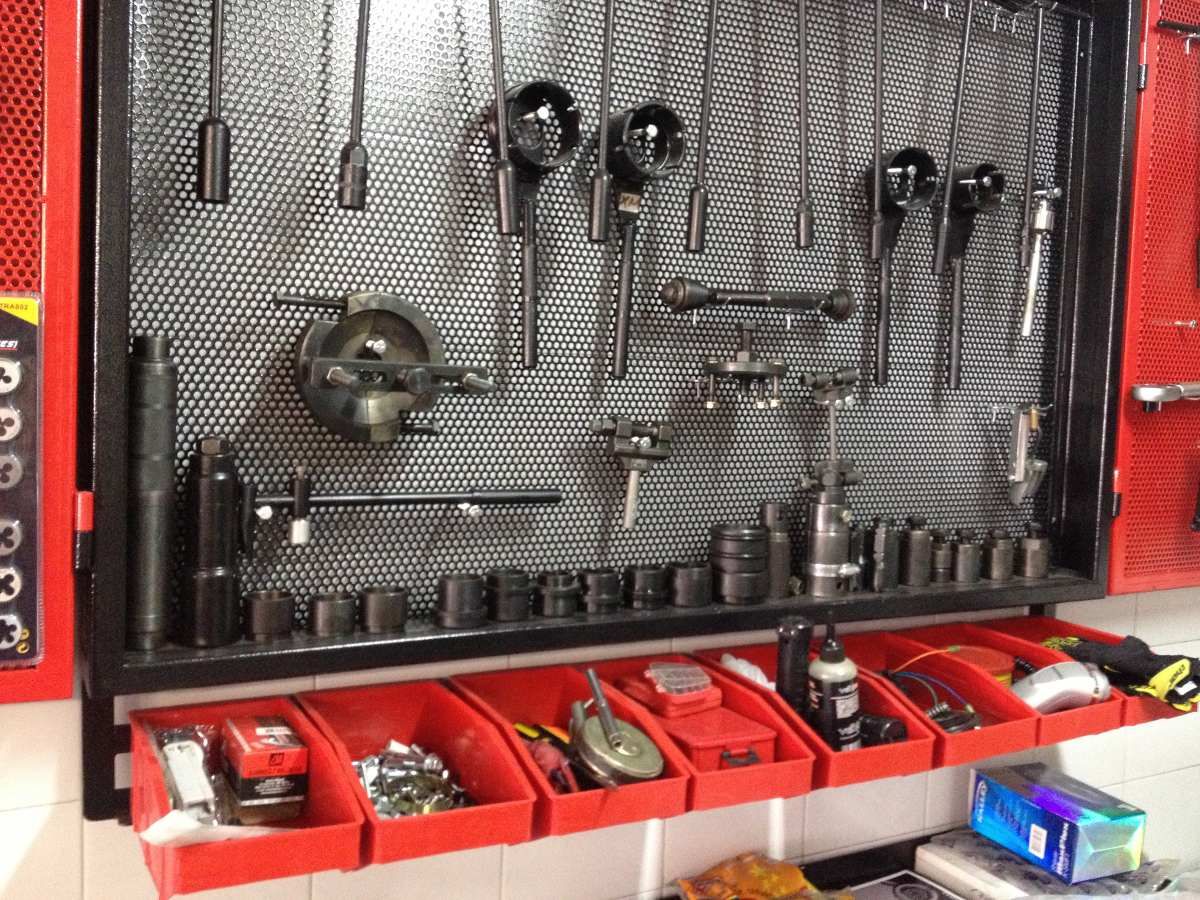Tablero organizador de herramientas en mercado - Tablero para herramientas ...