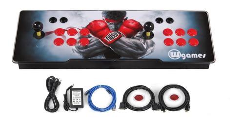 tablero pandora botonera arcade pandora 9 1660 juegos y 3d