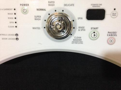 tablero panel de control para whirlpool lavadora w10117404