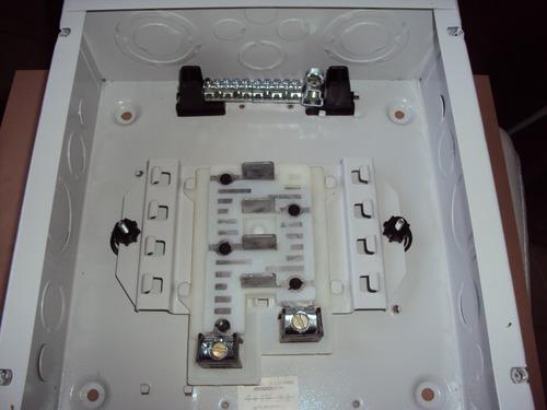 tablero residencial 8 circuitos con breaker marca siemens