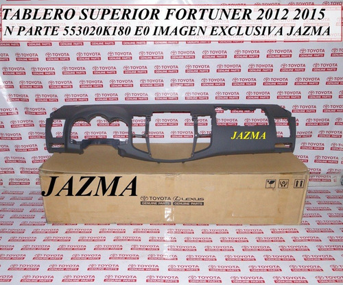 tablero superior fortuner 2012 2015 original toyota