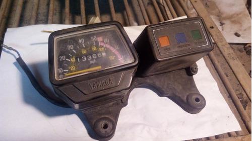 tablero tw 200 original, manubrio, acelerador, óptica,