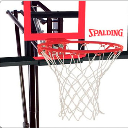 tablero y aro spalding de base basketball portátil regulable