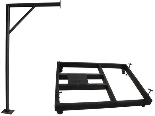 tableros  de baloncesto metal - torres moviles y fijas