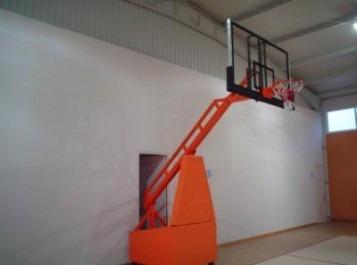 tableros de basquetbol fijo con carrito de 2.50 a 3.05m