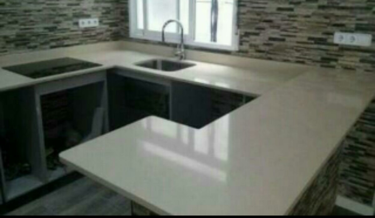 Tableros de cocina en m rmol granito cuarzo lima s 79 for Resinas para marmol y granito