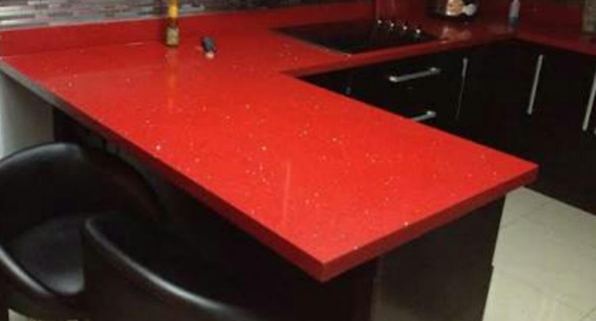 Tableros de m rmol granitos cuarzo rojo negro blanco gris - Tableros de cocina ...