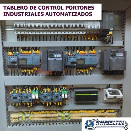 tableros electricos: ingenieria -ensamblaje -pruebas
