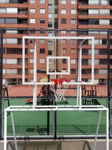 tableros para baloncesto en acrilico y fibra de vidrio