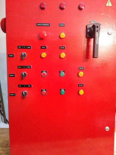 tableros para bombas contra incendio cayselec