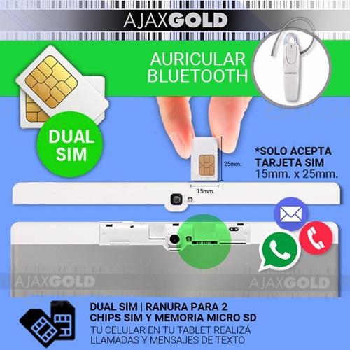 tablet 10 celular gamer 2gb ram dual chip 3g  android + 32gb