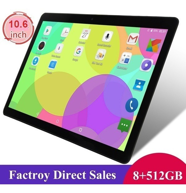 Tablet 10 6 Mpad Ten Cores Android 8 1 2 3ghz 8gb Ram 512gb