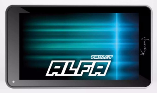 tablet 12 cuotas kanji alfa 7 quad core 8gb 2camaras