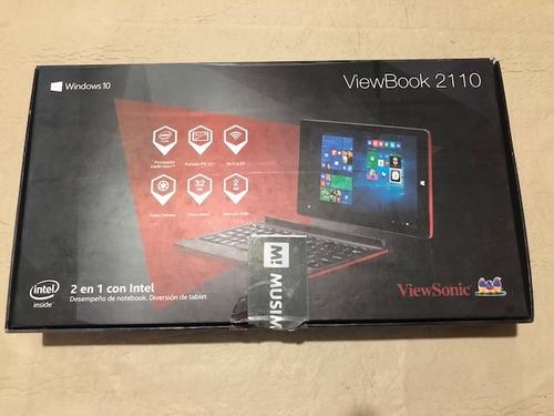 tablet 2 en 2 viewsonic viewbook 2110 intel windows