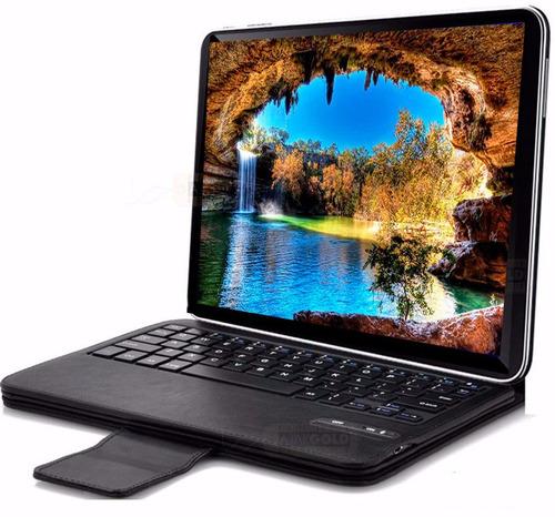 tablet 4k gadnic 10 4g hdmi + combo gratis + funda teclado
