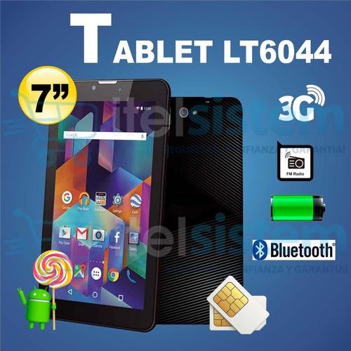 tablet 7 3g chip 8gb duos 1gb ram bluetooth itelsistem