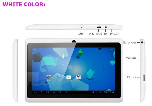 tablet 7'' 8 gb android 5.1 doble camara wifi - hd 1024*600