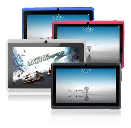 tablet 7  android 4/ doble cámara/ wifi/ 8gb a 32gb nueva