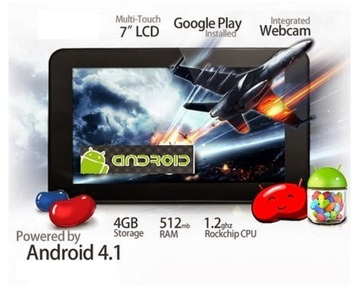 tablet 7  android 4.2/dual-1.2 dd/4gb /512ram wifi