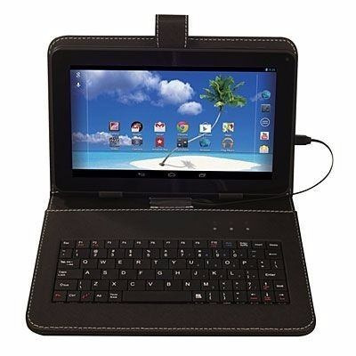 tablet 7´ android 5.1 quadcore wifi 8g 2 câmera + capa