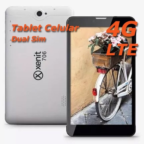 tablet 7  celular 4g lte liberada gps dual sim / gps