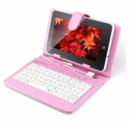 tablet 7´´ função celular 2 chips quadcore capa c/ teclado