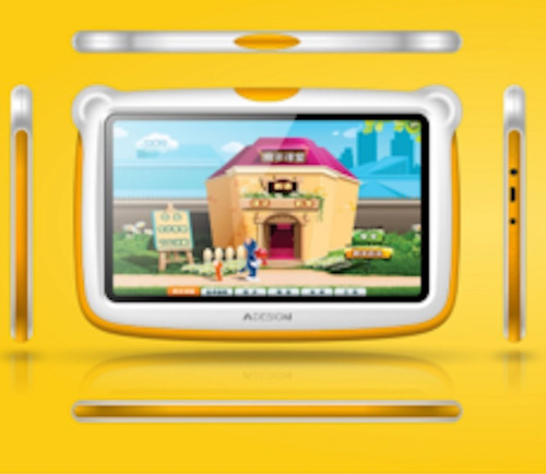 tablet 7 kids juegos infantil niños 1gb antigolpes new model
