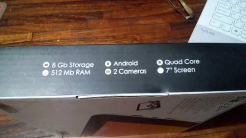 tablet 7  killer quad-core 8gb rom, doble cámara nuevo